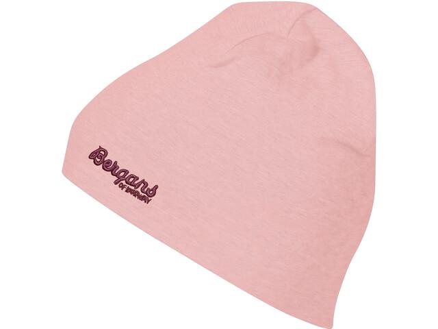 Bergans Cotton Beanie Kids, peach pink